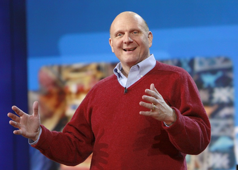 Steve Ballmer deserves praise – in a huge way